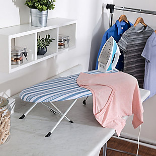 Honey-Can-Do Foldable Tabletop Ironing Board With Iron Rest, , rollover