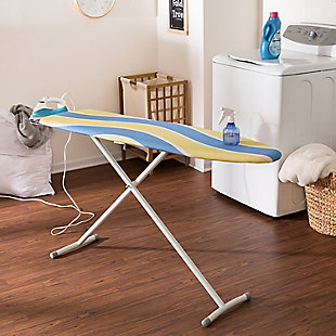 Honey-Can-Do Ironing Board with Retractable Iron Rest, , rollover