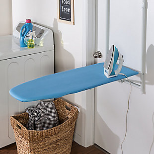Honey-Can-Do Over the Door Hanging Ironing Board, , rollover
