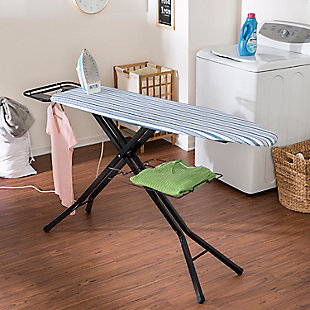 Honey-Can-Do Adjustable Deluxe Ironing Board With Iron Rest, , rollover