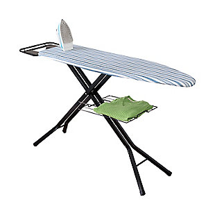 Honey-Can-Do Adjustable Deluxe Ironing Board With Iron Rest, , large