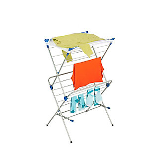 Honey-Can-Do 2 Tier Foldable Drying Rack With Mesh Top, , large