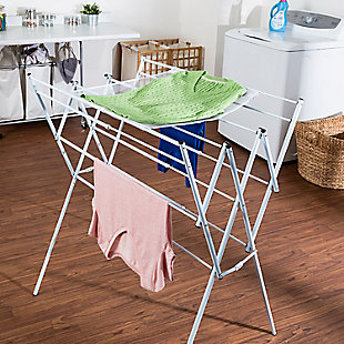 Honey-Can-Do Expandable Drying Rack With Mesh Top, , rollover