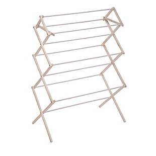 Honey-Can-Do Heavy Duty Wood Drying Rack, , large