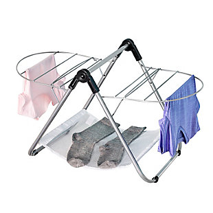 Honey-Can-Do Collapsible Tabletop Clothes Drying Rack, , large