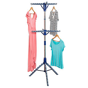 Honey-Can-Do 2-Tier Tripod Drying Rack, , large