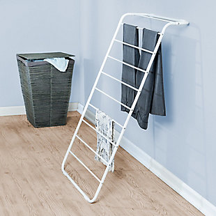 Honey-Can-Do Leaning Clothes Drying Rack, , rollover