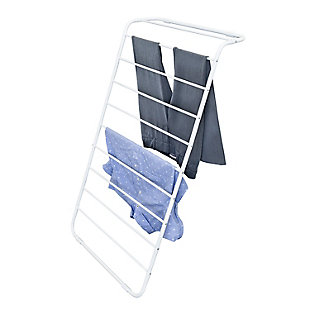 Honey-Can-Do Leaning Clothes Drying Rack, , large