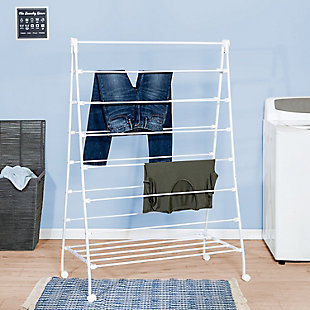 Honey-Can-Do Large A-Frame Clothes Drying Rack, , rollover