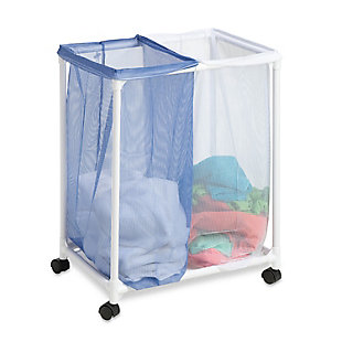 Honey-Can-Do 2 Bag Mesh Laundry Sorter, , rollover