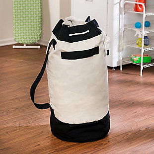 Honey-Can-Do Duffle Style Laundry Bag, , rollover