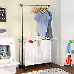 Honey-Can-Do Adjustable Height Laundry Center, , rollover