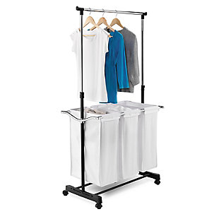 Honey-Can-Do Adjustable Height Laundry Center, , large