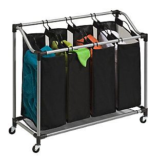 Honey-Can-Do Deluxe Quad Sorter with Mesh Bags, , large