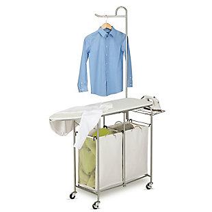 Honey-Can-Do Foldable Laundry Valet Center, , large