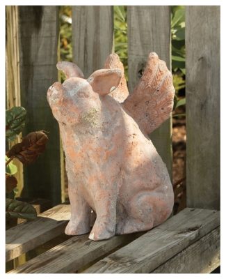 Ashley Home Accents Sculpture, Pink
