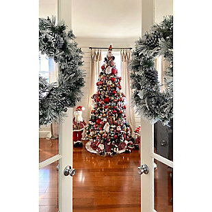 Fraser Hill 196-piece Traditional Ornament and Decor Set, , rollover