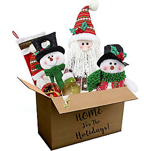 Fraser Hill 196-piece Traditional Ornament and Decor Set, , large