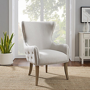 Landyn Natural Round Back Chair, , rollover