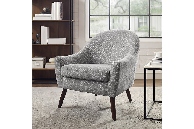 Cecil Gray Accent Chair, , large