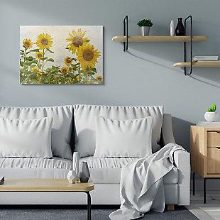 Sunflower Garden Farm 30x40 Canvas Wall Art, , rollover
