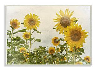 Sunflower Garden Farm 10x15 Wall Plaque, , large