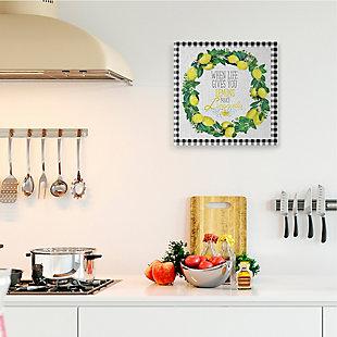 Make Limoncello Kitchen Humor 24x24 Canvas Wall Art, , rollover
