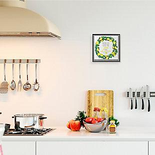 Make Limoncello Kitchen Humor 12x12 Black Frame Wall Art, , rollover