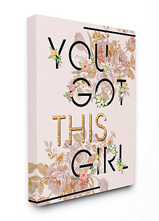 You Got This Girl 24x30 Canvas Wall Art, , large