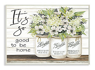 So Good To Be Home 13x19 Wall Plaque, , large
