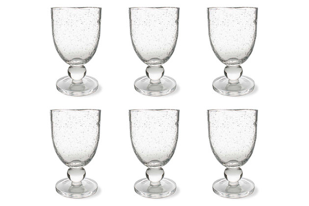 Home Accents Glassware (Set of 6), , large