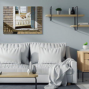 Dog Nap at Cape House 36x48 Canvas Wall Art, , rollover