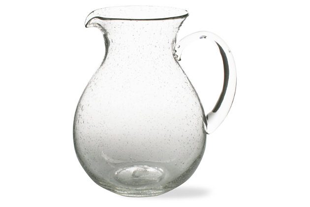 Home Accents Bubble Glass Pitcher by Ashley HomeStore