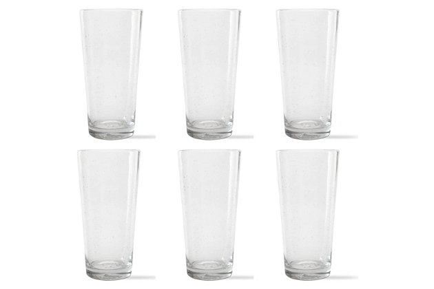 Home Accents Bubble Glass Pub Glass (Set of 6) by Ashley ...