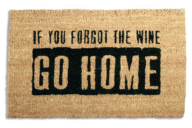 Home Accents Where's the Wine Doormat, , large