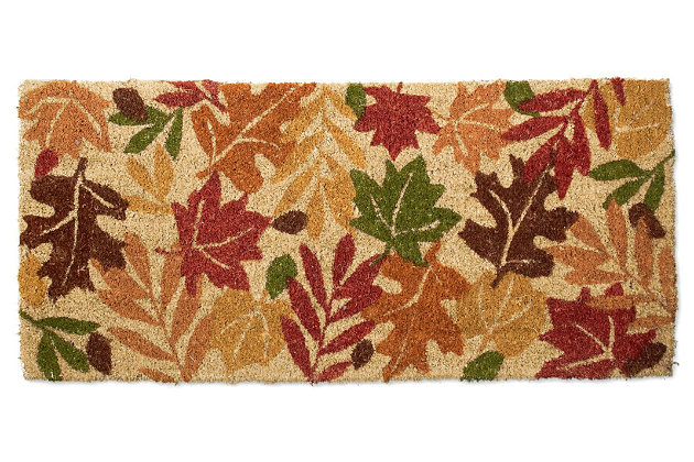 Home Accents Harvest Leaves Doormat by Ashley HomeStore, Multi