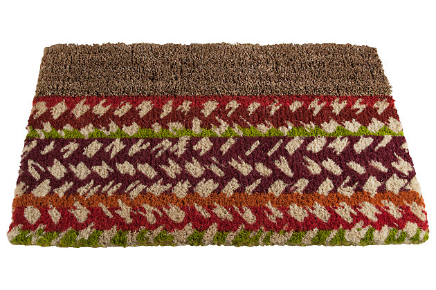 Home Accents Market Stripe Doormat by Ashley HomeStore, Multi