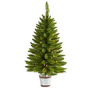 Nearly Natural  3 Ft. Providence Pine Artificial Christmas Tree, , large