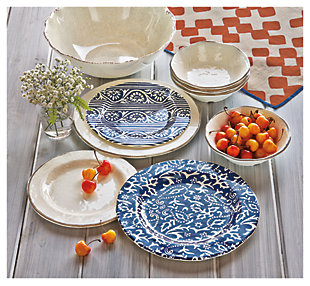 ... large Home Accents Dinnerware Set (Set of 4)  rollover & Dinnerware | Decor You Can Eat Off Of | Ashley Furniture HomeStore