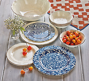 Home Accents Dinnerware Set (Set of 4), , large