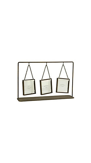 Triple Table Top Photo Frames, , large