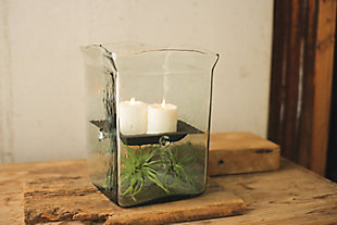 Giant Square Candle Hurricane, , rollover