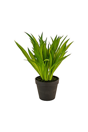 Artificial Potted Green Grass, , large