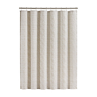 J. Queen New York Logan Shower Curtain, , large