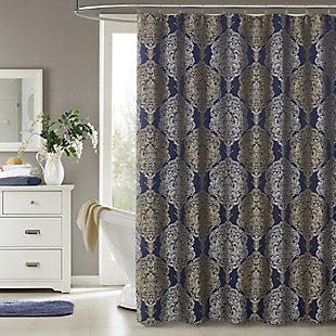 J. Queen New York Constance Shower Curtain, , rollover