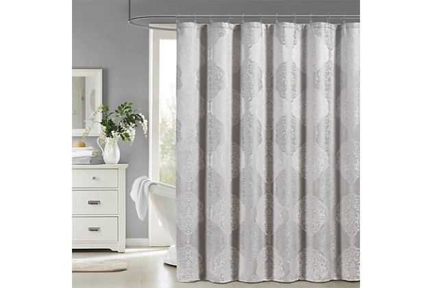J. Queen New York Constance Shower Curtain, , large