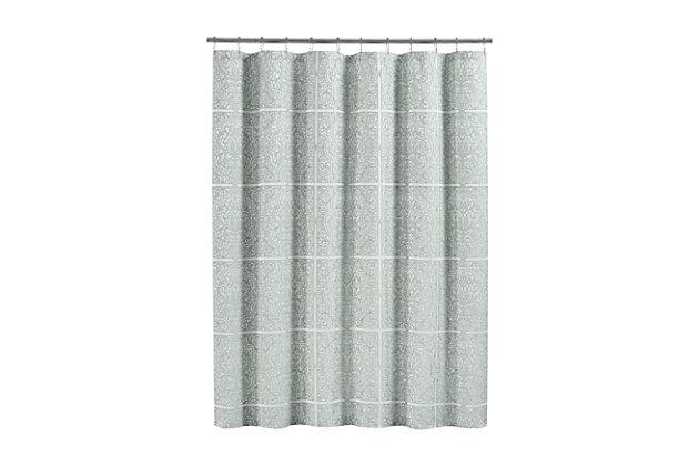 J. Queen New York Corina Shower Curtain, , large