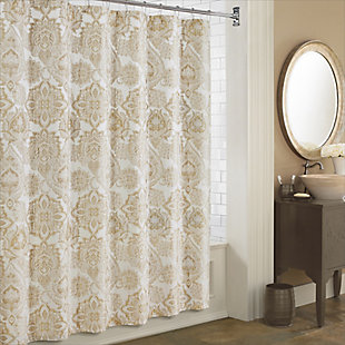 J. Queen New York Sandstone Shower Curtain, , rollover