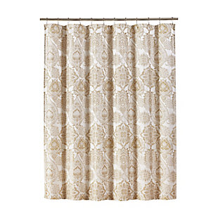 J. Queen New York Sandstone Shower Curtain, , large