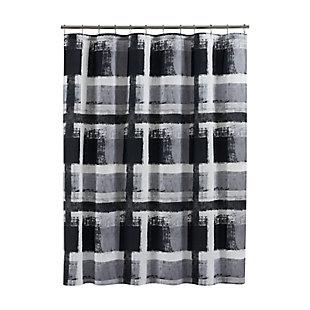 Oscar Oliver Percy Shower Curtain, Grey, large